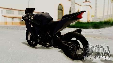 Honda CBR150i для GTA San Andreas вид слева