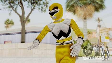 Power Rangers Lost Galaxy - Yellow для GTA San Andreas