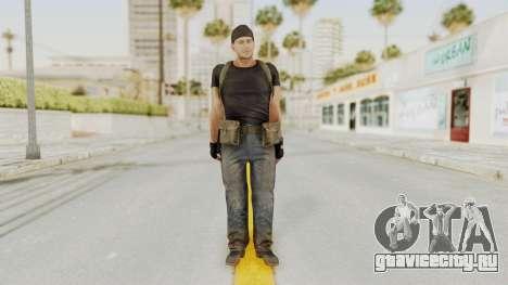 MGSV Phantom Pain RC Soldier T-shirt v1 для GTA San Andreas второй скриншот