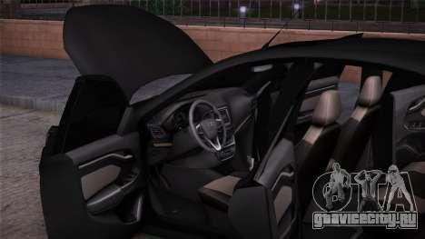 Lada Vesta Сток для GTA San Andreas вид сзади слева