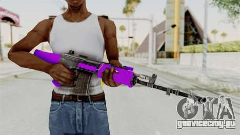 IOFB INSAS Violet для GTA San Andreas третий скриншот