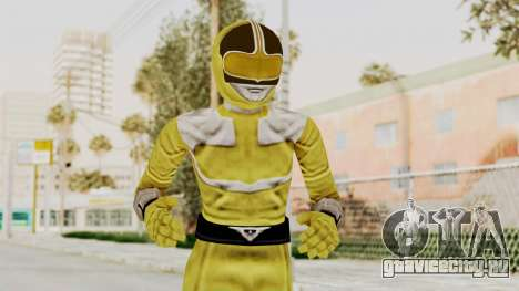 Power Rangers Time Force - Yellow для GTA San Andreas