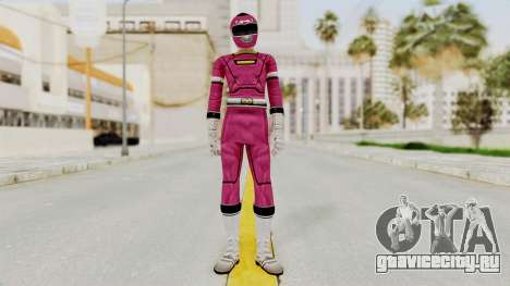 Power Rangers Turbo - Pink для GTA San Andreas второй скриншот