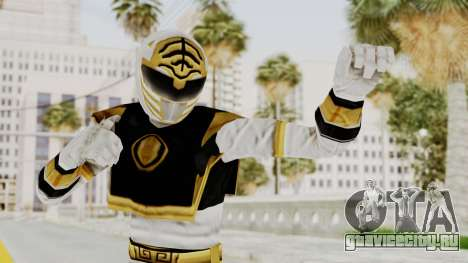 Mighty Morphin Power Rangers - White для GTA San Andreas