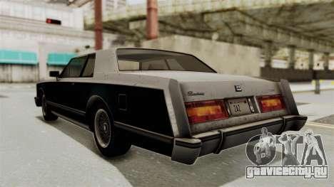 GTA 5 Dundreary Virgo SA Style для GTA San Andreas вид слева