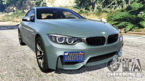 BMW M4 GTS для GTA 5