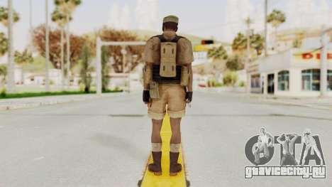 MGSV Phantom Pain CFA Combat Vest 2 v1 для GTA San Andreas третий скриншот
