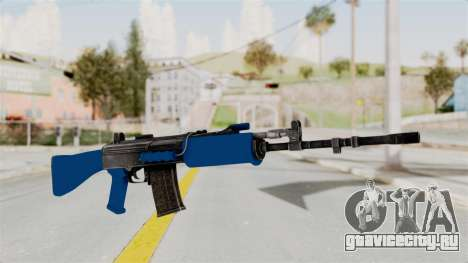 IOFB INSAS Dark Blue для GTA San Andreas
