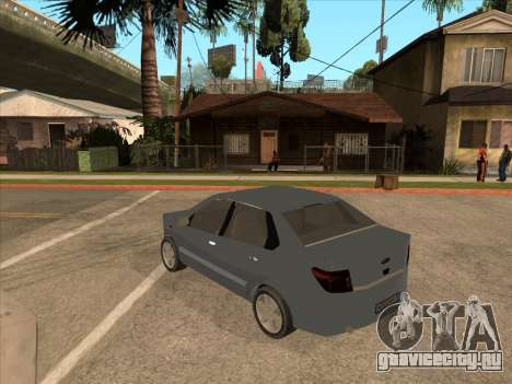 Datsun on-DO для GTA San Andreas вид изнутри