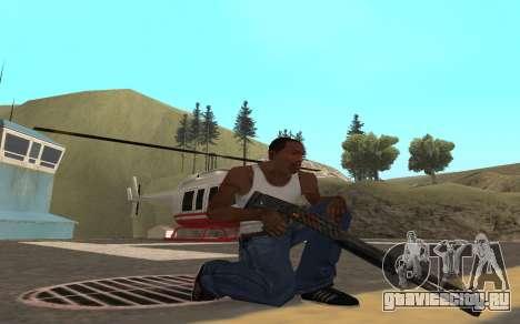 Redline weapon pack для GTA San Andreas шестой скриншот