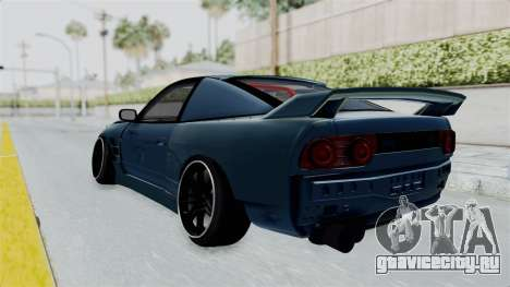 Nissan 180SX BETA для GTA San Andreas вид слева