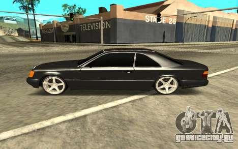 Мercedes-Benz Е320 для GTA San Andreas вид слева