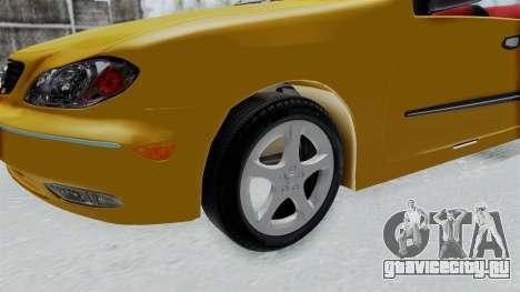 Nissan Maxima Spyder для GTA San Andreas вид сзади
