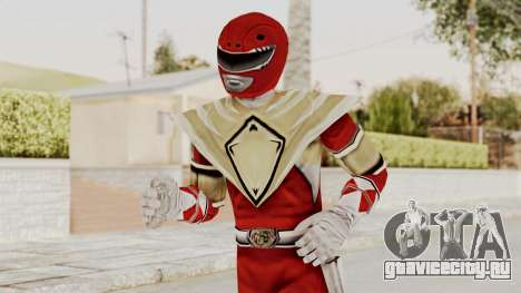 Mighty Morphin Power Rangers - Red Armor для GTA San Andreas