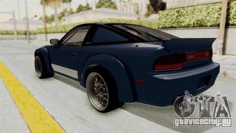 Nissan Silvia Sil80 для GTA San Andreas вид слева