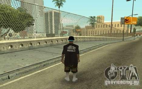 Varios Los Aztecas Gang Member для GTA San Andreas второй скриншот