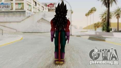Dragon Ball Xenoverse Vegeta SSj4 для GTA San Andreas третий скриншот
