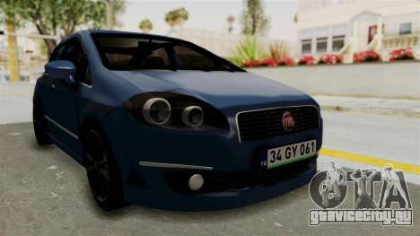 Fiat Linea 2011 для GTA San Andreas