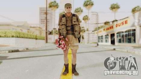 MGSV Phantom Pain CFA Combat Vest 2 v2 для GTA San Andreas второй скриншот