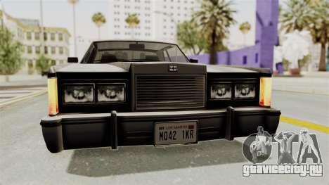 GTA 5 Dundreary Virgo SA Style для GTA San Andreas вид сбоку