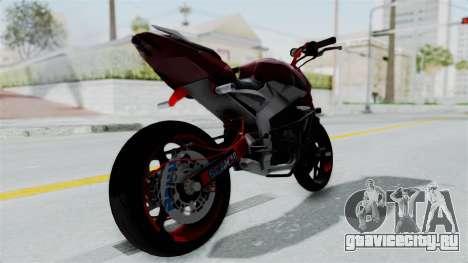 Pulsar 200NS Stunt для GTA San Andreas