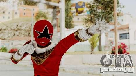 Power Ranger Zeo - Red для GTA San Andreas