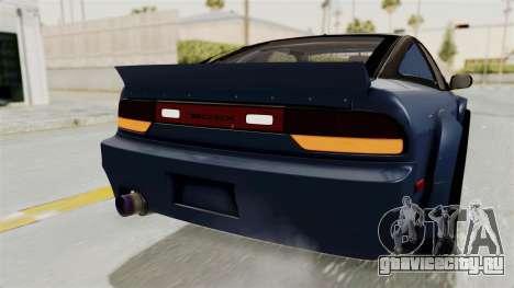 Nissan Silvia Sil80 для GTA San Andreas салон
