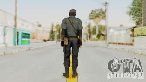 MGSV Phantom Pain Zero Risk Security LMG v1 для GTA San Andreas третий скриншот
