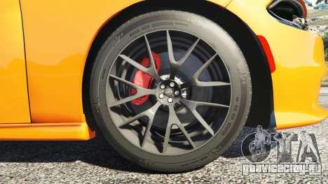 Dodge Charger SRT Hellcat 2015 v1.2 для GTA 5 руль и приборная панель