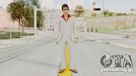Scarface Tony Montana Suit v4 with Glasses для GTA San Andreas второй скриншот