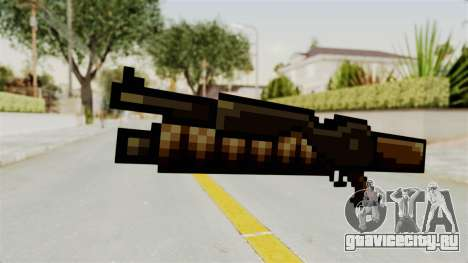 Heavy Machinegun from Metal Slug для GTA San Andreas