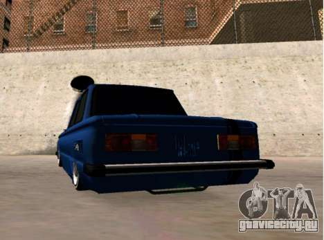 ZAZ BPAN для GTA San Andreas вид сзади слева