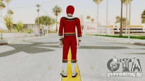 Power Ranger Zeo - Red для GTA San Andreas третий скриншот
