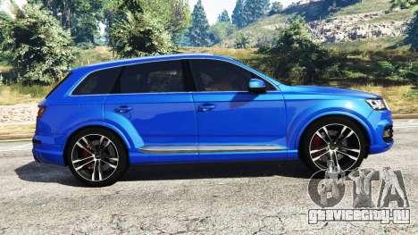 Audi Q7 2015 [rims2] для GTA 5 вид слева
