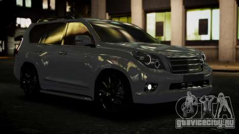 Toyota Land Crusier Prado 150 для GTA 4 вид изнутри
