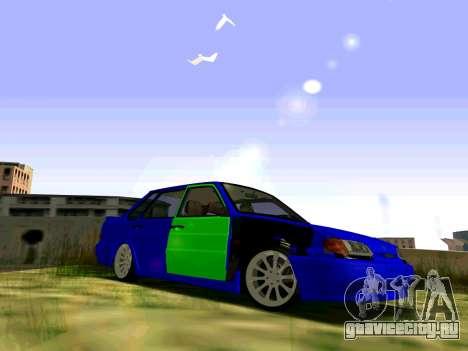 ВАЗ 2115 Битая для GTA San Andreas