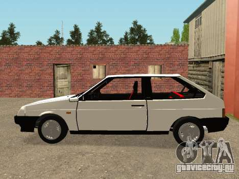 VAZ 2108 Stock by Greedy для GTA San Andreas вид слева