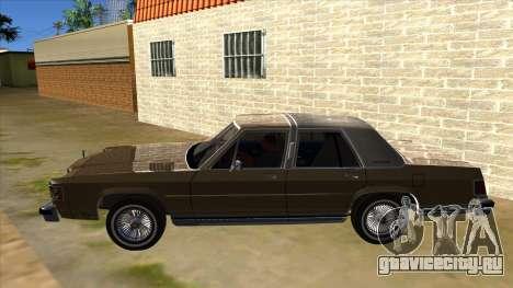 Mercury Grand Marquis 1986 v1.0 для GTA San Andreas вид слева