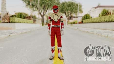 Mighty Morphin Power Rangers - Red Armor для GTA San Andreas второй скриншот