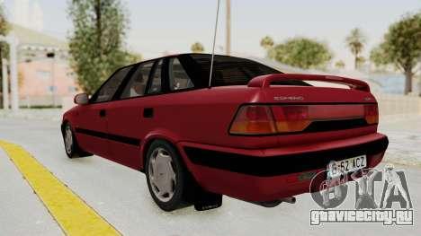Daewoo Espero 1.5 GLX 1996 v2 Final для GTA San Andreas вид слева