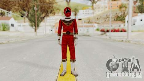 Power Ranger Zeo - Red для GTA San Andreas второй скриншот