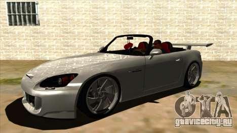 Honda S2000 MA Tunning для GTA San Andreas