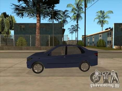 Datsun on-DO для GTA San Andreas вид сзади слева
