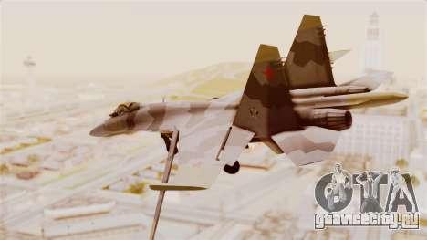 SU-27 Hydra для GTA San Andreas вид слева