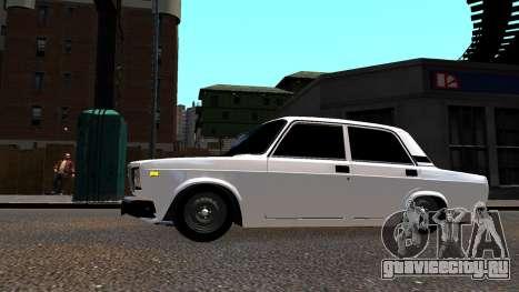 ВАЗ 2107 БПАН для GTA 4 вид слева