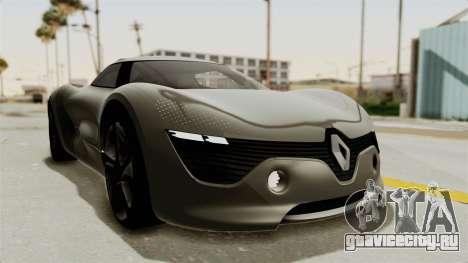 Renault Dezir Concept для GTA San Andreas вид сзади слева