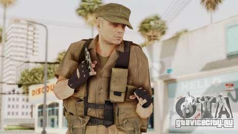 MGSV Phantom Pain CFA Combat Vest 2 v2 для GTA San Andreas