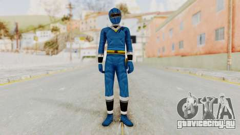 Alien Rangers - Blue для GTA San Andreas второй скриншот