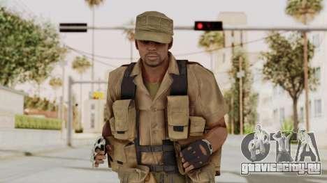 MGSV Phantom Pain CFA Combat Vest 2 v1 для GTA San Andreas