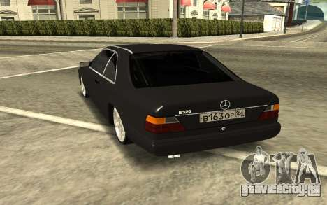 Мercedes-Benz Е320 для GTA San Andreas вид сзади слева